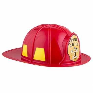 Adult size brandweerhelm carnavalskleding valkenswaard