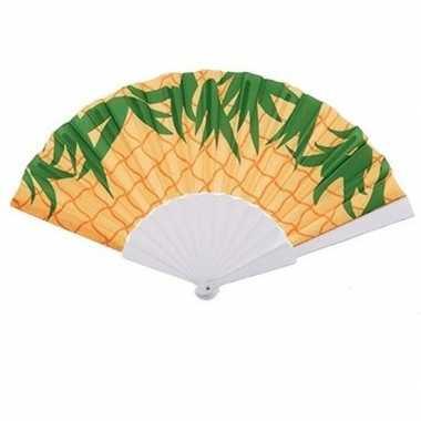 Ananas waaier carnavalskleding valkenswaard