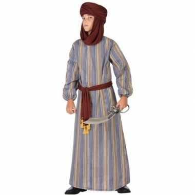 Arabische strijder ali verkleed carnavalskleding/gewaad jongens valke