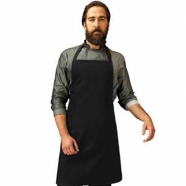 Barbecue keukenschort volwassenen zwart carnavalskleding valkenswaard