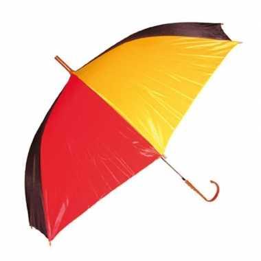 Belgische paraplu carnavalskleding valkenswaard