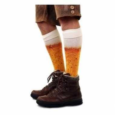 Bier sokken maat heren carnavalskleding valkenswaard