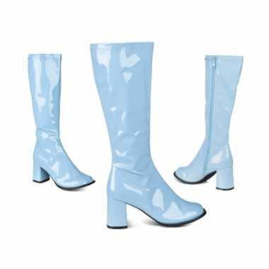 Blauwe hippie laarzen
