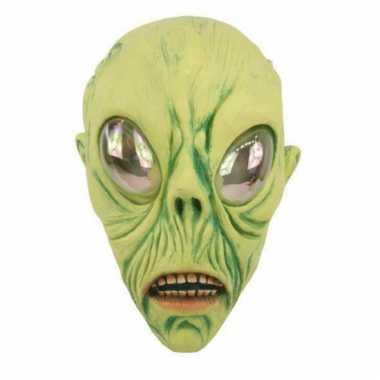 Buitenaards wezen feest masker carnavalskleding valkenswaard
