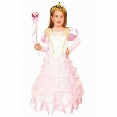 Carnaval carnavalskleding roze prinses jurk valkenswaard