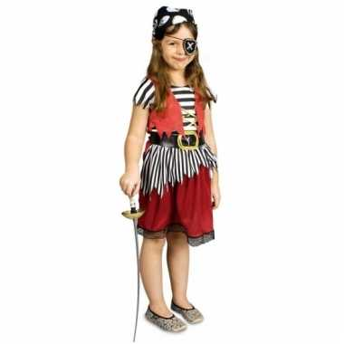 Carnaval piraten jurkje meiden carnavalskleding valkenswaard