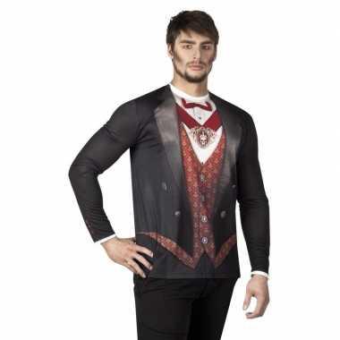 Carnavalscarnavalskleding vampier herenshirt valkenswaard