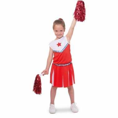Cheerleader carnavalskleding verkleed carnavalskleding meisjes valken