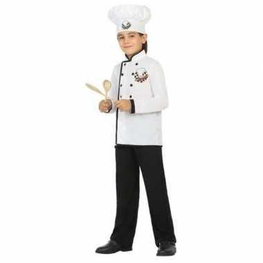 Chef kok verkleed carnavalskleding jongens valkenswaard