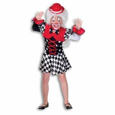 Clownscarnavalskleding meiden valkenswaard