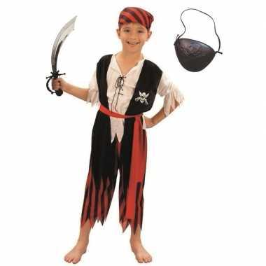 Compleet piraten carnavalskleding maat l kinderen valkenswaard