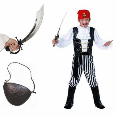 Compleet piraten carnavalskleding maat m kids valkenswaard