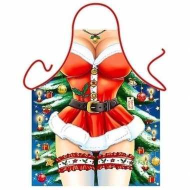 Dames kado artikelen schort kerst miss