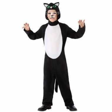 Dierencarnavalskleding kat/poes verkleed carnavalskleding kinderen va