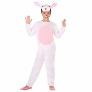 Dierencarnavalskleding konijn/haas verkleed carnavalskleding kinderen