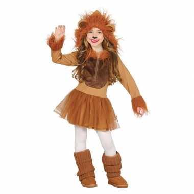 Dierencarnavalskleding leeuw verkleedjurkje meisjes valkenswaard