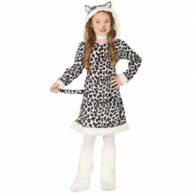 Dierencarnavalskleding luipaard verkleedjurkje meisjes valkenswaard