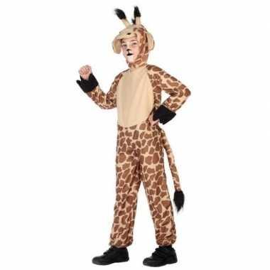 Dierencarnavalskleding verkleed carnavalskleding giraffe kinderen val