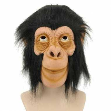 Dierenmasker aap haar carnavalskleding Valkenswaard