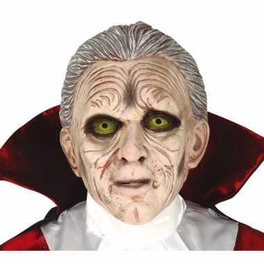 Dracula/vampier horror masker latex carnavalskleding valkenswaard