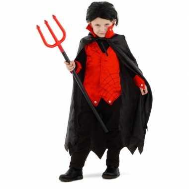 Dracula/vampier verkleed carnavalskleding cape kinderen valkenswaard