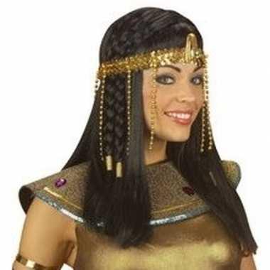 Egyptische hoofdband gouden kralen carnavalskleding valkenswaard