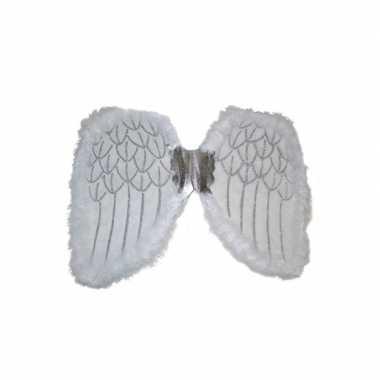 Engelen verkleed vleugels wit carnavalskleding valkenswaard