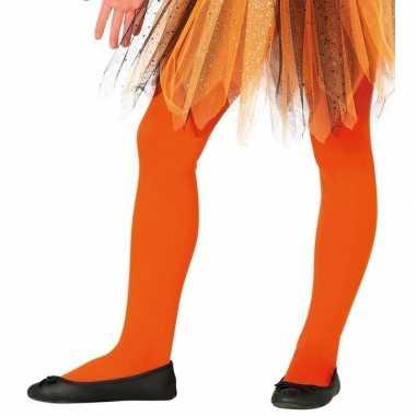 Feloranje kinder panties jaar carnavalskleding valkenswaard