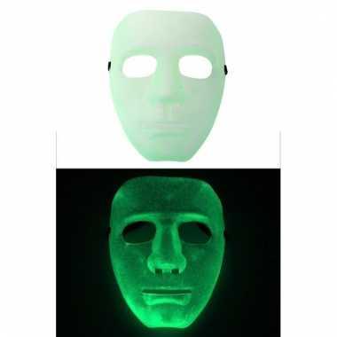 Glow the dark masker volwassenen