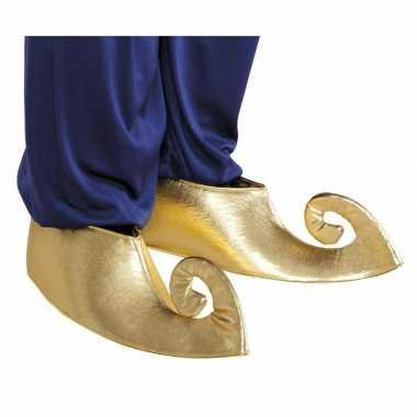 Gouden sultan overschoenen volwassenen