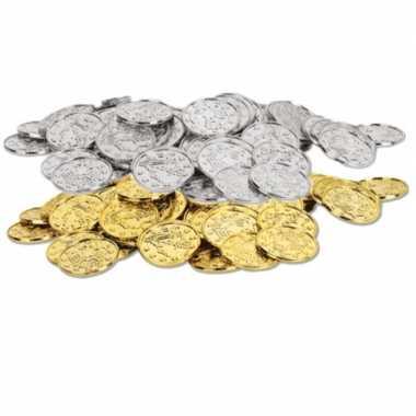 Gouden zilveren oude munten x carnavalskleding valkenswaard