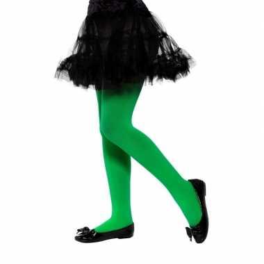 Groene legging kinderen jaar carnavalskleding valkenswaard