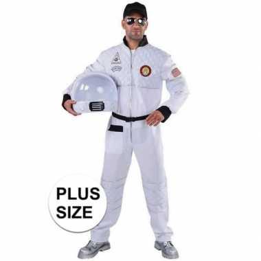 Grote maat astronaut verkleed carnavalskleding heren valkenswaard