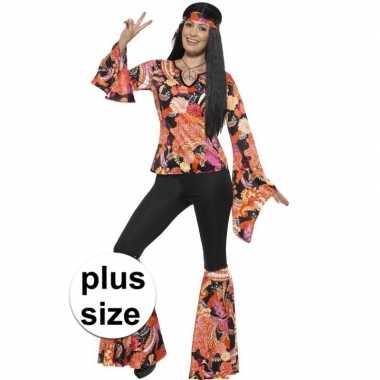 Grote maten hippie carnavalskleding willow dames valkenswaard