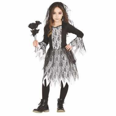 Halloween bruid carnavalskleding meisjes