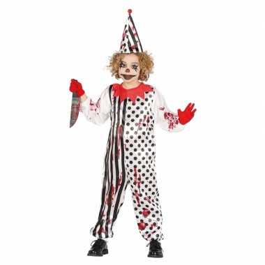 Halloween carnavalskleding enge clown jongens valkenswaard
