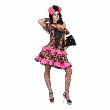 Halloween day of the dead halloween jurk dames carnavalskleding valke