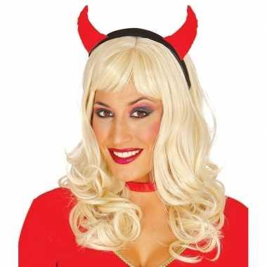 Halloween diadeem duivelsoortjes dames carnavalskleding valkenswaard