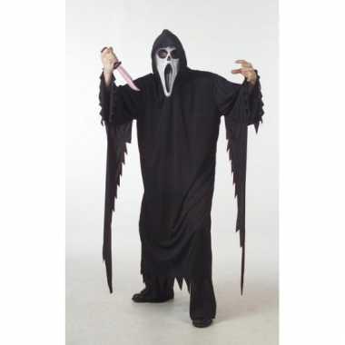 Halloween grote maat carnavalskleding scream