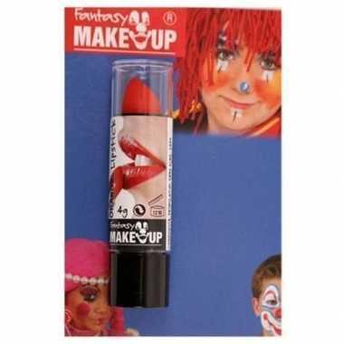 Halloween/horror mat rode lippenstift/lipstick carnavalskleding valke