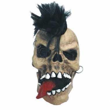 Halloween horror schedel punk masker carnavalskleding valkenswaard