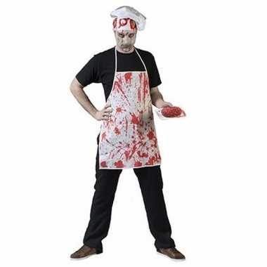 Halloween horror schort bloedspetters carnavalskleding valkenswaard