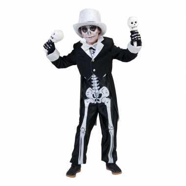 Halloween skelet carnavalskleding jongens valkenswaard