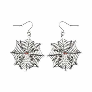 Halloween spinnen heksen oorbellen dames carnavalskleding valkenswaar