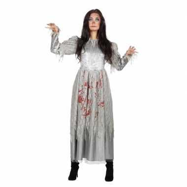 Halloween zombie halloween bruidsjurk dames carnavalskleding valkensw