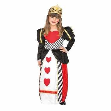 Hartjes verkleed carnavalskleding meisjes