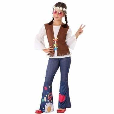 Hippie/flower power verkleed carnavalskleding meisjes valkenswaard