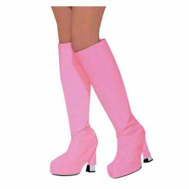 Hoezen om laars roze carnavalskleding valkenswaard