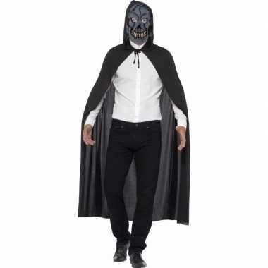 Horror cape halloween skelet masker carnavalskleding valkenswaard