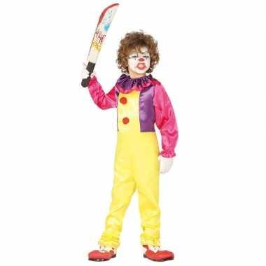 Horror clown freak verkleed carnavalskleding kinderen valkenswaard